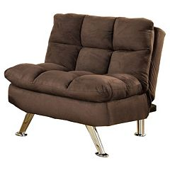 Venetian Worldwide Peluche Futon Chair