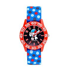 Red Balloon Robot Boys' Time Teacher Watch