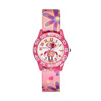 Red Balloon Girls' Robot Time Teacher Watch