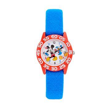 Disney's Mickey Mouse & Donald Duck Boys' Time Teacher Watch