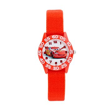 Disney / Pixar Cars Lightning McQueen Boys' Time Teacher Watch