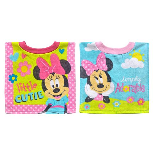 New Mickey Mouse or Minnie Mouse Pull Over Bib Months