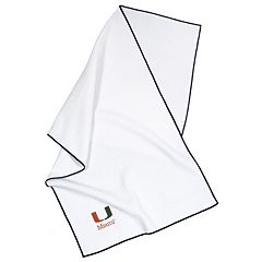Team Effort Miami Hurricanes Microfiber Golf Towel