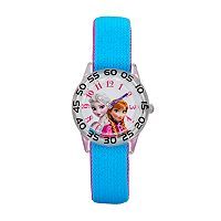 Disney's Frozen Anna & Elsa Girls' Time Teacher Watch