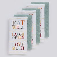 The Big One® Eat Well Kitchen Towels - 6-pk.