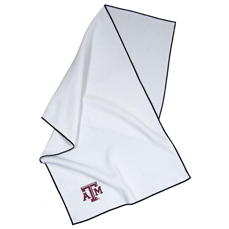 Team Effort NCAA Embroidered Microfiber Towel - Texas A & M