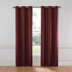 eclipse Thermaback Blackout 1-Panel Nikki Window Curtain