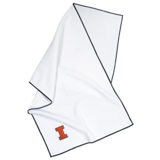 Team Effort Illinois Fighting Illini Microfiber Golf Towel