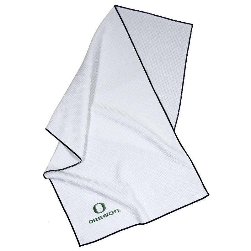 Team Effort NCAA Embroidered Microfiber Towel - Oregon