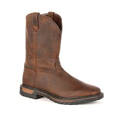 Rocky Original Ride Men's Steel-Toe Work Boots
