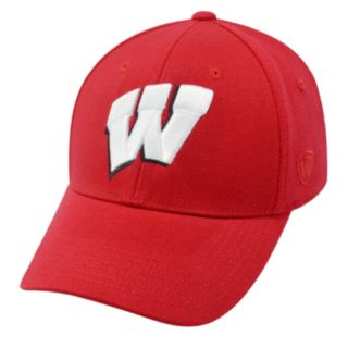 Adult Top of the World Wisconsin Badgers One-Fit Cap