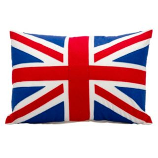 Mina Victory British Flag Throw Pillow