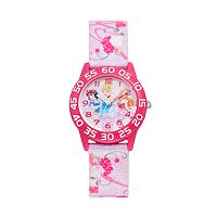 Disney Princess Snow White, Cinderella & Aurora Girls' Time Teacher Watch
