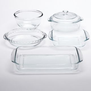 Libbey Bake 6-pc. Glass Baking Dish Set