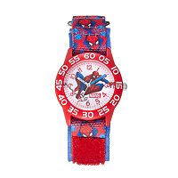 Marvel Ultimate Spider-Man Boys' Time Teacher Watch