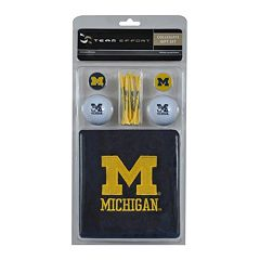 Team Effort Michigan Wolverines Golf Gift Set