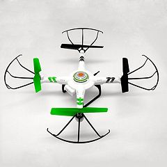 AWW Quadrone Vision Quadcopter Drone with Camera by