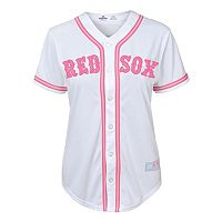 Girls 7-16 Majestic Boston Red Sox Fashion Jersey