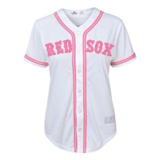 Girls 7-16 Majestic Boston Red Sox Fashion Jersey