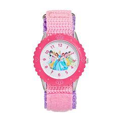 Disney Princess Girls' Time Teacher Watch