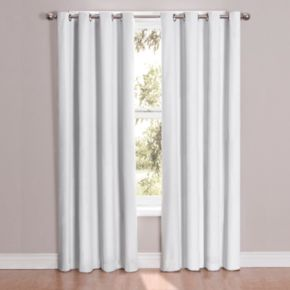 eclipse Thermaback Blackout 1-Panel Cassidy Window Curtain