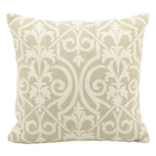 Mina Victory Wool & Suede Throw Pillow