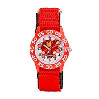 Marvel The Avengers Assemble Iron Man Boys' Time Teacher Watch