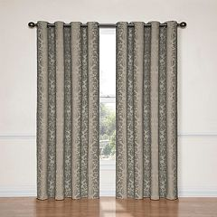 eclipse Thermalayer Blackout 1-Panel Nadya Window Curtain