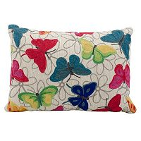 Mina Victory Butterflies Throw Pillow