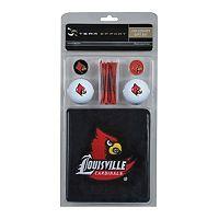 Team Effort Louisville Cardinals Golf Gift Set