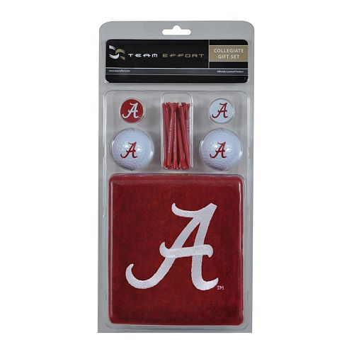 Team Effort Alabama Crimson Tide Golf Gift Set