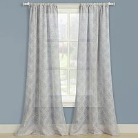 Laura Ashley 2-pack Chancery Window Curtains - 40'' x 84''