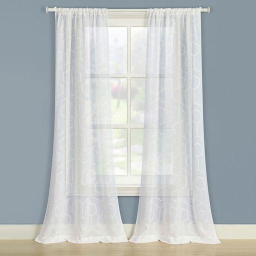 Laura Ashley 2-pack Linton Window Curtains