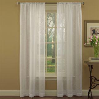 Laura Ashley Lifestyles 2-pack Diane Window Curtains