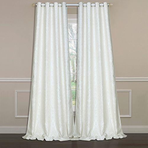 Laura Ashley Lifestyles 2-pack Florence Window Curtains