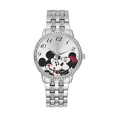 Disney's Mickey & Minnie Mouse Women's Crystal Watch