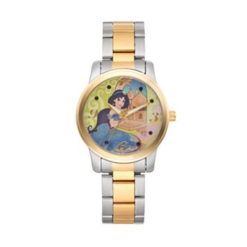 Disney's Aladdin Jasmine Women's Two Tone Watch