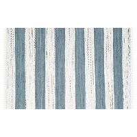 Safavieh Montauk Lynette Handcrafted Flatweave Striped Rug