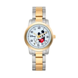 Disney's Mickey Mouse Men's Two Tone Watch