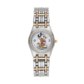 Disney's Mickey Mouse Women's Two Tone Watch