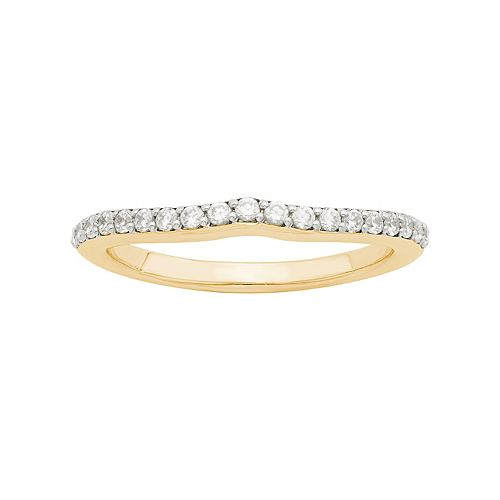 LOVE 360 14k Gold 1/4 Carat T.W. Diamond Wedding Ring