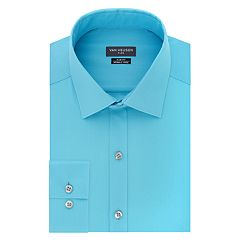 Men's Van Heusen Flex Collar Regular-Fit Pincord Dress Shirt