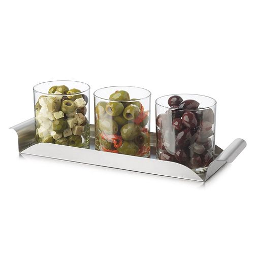 Libbey Modern Bar 4-pc. Condiment Set