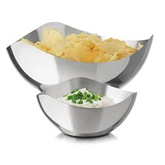 Libbey Modern Bar 2-pc. Chip 'N Dip Bowl Set
