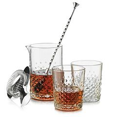Libbey Montclair 5 pc Bar Glass Set