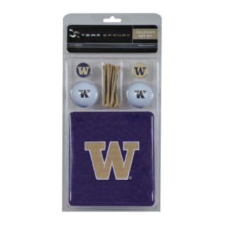 Team Effort Washington Huskies Golf Gift Set