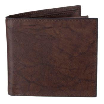 Men's Croft & Barrow® Extra-Capacity Hipster Wallet