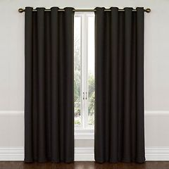 eclipse Thermaweave Blackout 1-Panel Wyndham Window Curtain