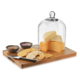 Libbey BeSocial 5-pc. Dome Cheese Board Set