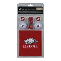 Team Effort Arkansas Razorbacks Golf Gift Set